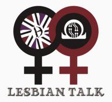 Lesbian Talk Logo (New) Baby Tee