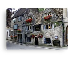 The Bridge Tea Rooms, Bradford on Avon, Wiltshire, UK Canvas Print
