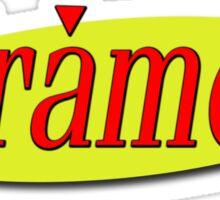Kramer - Seinfeld Logo Sticker
