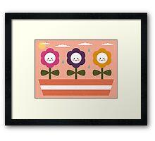 Baby Flowers Framed Print