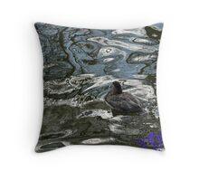 EJK - Just Keep Swimming  Throw Pillow