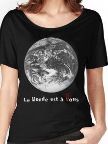 Le Monde de La Haine Women's Relaxed Fit T-Shirt