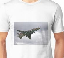 Sukhoi Su-22M-4 Fitter-K Red 9616 Unisex T-Shirt