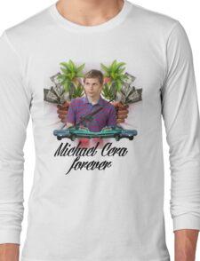 Michael Cera Forever Long Sleeve T-Shirt