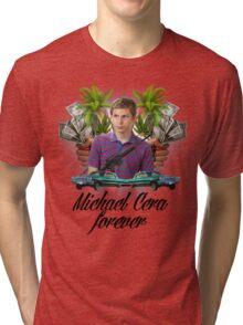 Michael Cera Forever Tri-blend T-Shirt