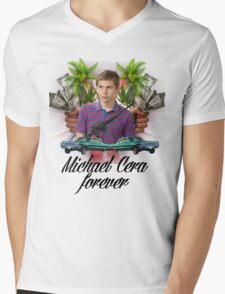 Michael Cera Forever Mens V-Neck T-Shirt