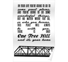 THERE IS ONLY ONE TREE HILL Poster