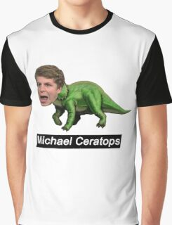 Michael Ceratops Graphic T-Shirt