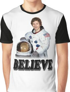 Michael Cera Believes in You Graphic T-Shirt