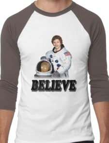 Michael Cera Believes in You Men's Baseball ¾ T-Shirt