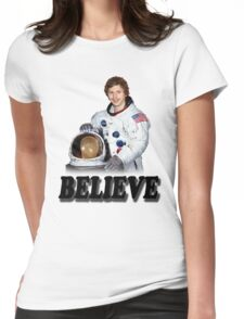 Michael Cera Believes in You Womens Fitted T-Shirt