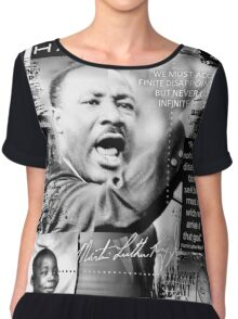 martin luther king Chiffon Top