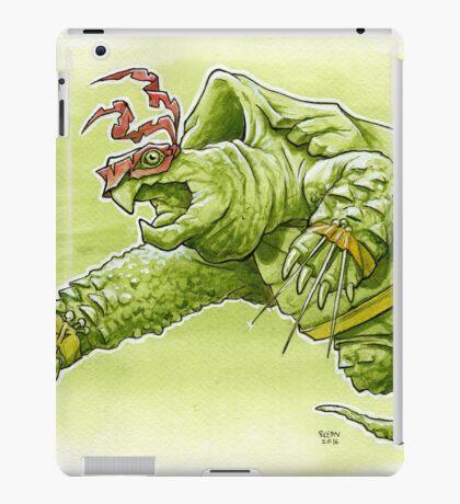 Fighting Turtle iPad Case/Skin
