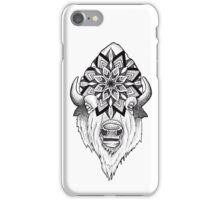 Mandala Bison iPhone Case/Skin