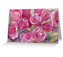 Colorful Roses Greeting Card