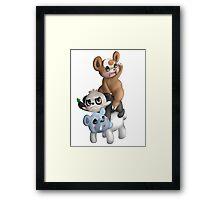 We Bear Pokemon Framed Print