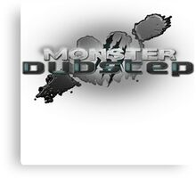 monster dubstep Canvas Print