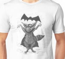 Vampire Raccoon wants to Suck Your Blood Unisex T-Shirt