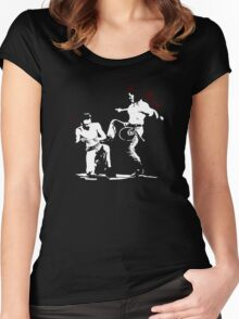 When you've had enough of Joe Montgomery Women's Fitted Scoop T-Shirt