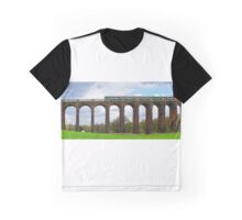 Panorama of Balcombe Railway Viaduct in West Sussex Graphic T-Shirt