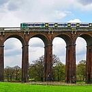 Panorama of Balcombe Railway Viaduct in West Sussex by Steve