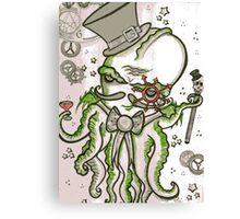 Steampunk Cthulhu  Canvas Print