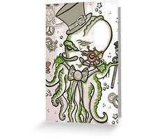 Steampunk Cthulhu  Greeting Card
