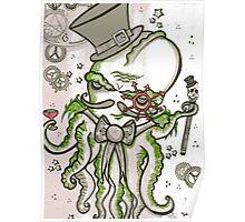 Steampunk Cthulhu  Poster