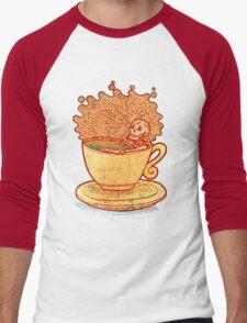 Tea Team Men's Baseball ¾ T-Shirt