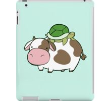 Cow and Turtle iPad Case/Skin