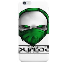 green scraf iPhone Case/Skin