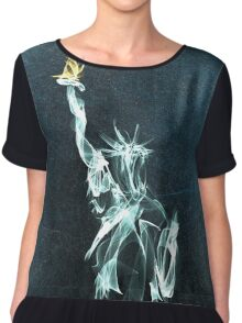 Statue Of Liberty Chiffon Top