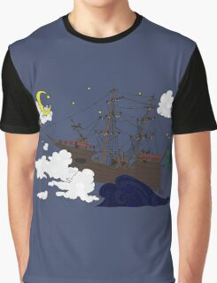 Ship of the Imagination Graphic T-Shirt