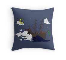 Ship of the Imagination Throw Pillow