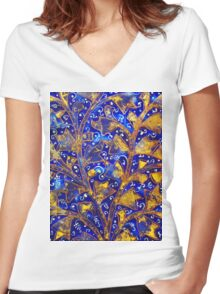 Ancient ceramics Women's Fitted V-Neck T-Shirt
