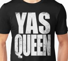 YAS QUEEN (WHITE) Unisex T-Shirt