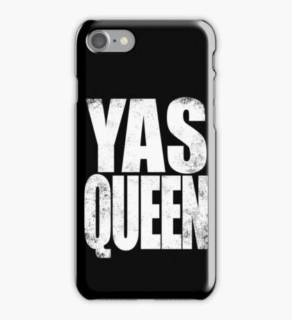 YAS QUEEN (WHITE) iPhone Case/Skin