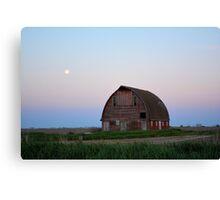 Moon Over Royal Barn 2 Canvas Print