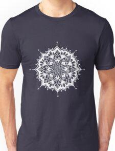 White Sacred Geometry  Unisex T-Shirt