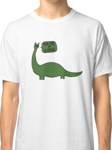 Rock And Rawrl Dino  Classic T-Shirt