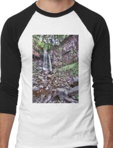Melincourt Falls Long Exposure Men's Baseball ¾ T-Shirt