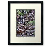 Melincourt Falls Long Exposure Framed Print