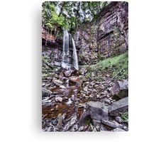 Melincourt Falls Long Exposure Canvas Print