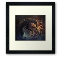 Cursed Universe Framed Print
