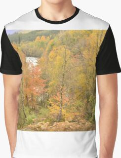 Autumn in the Highlands Graphic T-Shirt