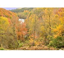 Autumn in the Highlands Photographic Print