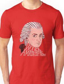 Wofgang Amadeus Mozart Unisex T-Shirt