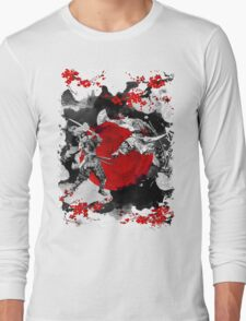 Samurai Fighting Long Sleeve T-Shirt
