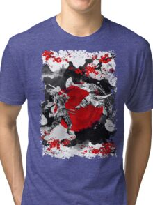 Samurai Fighting Tri-blend T-Shirt