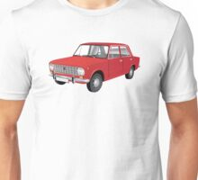 VAZ-2101 - Lada 1200 - illustration, red Unisex T-Shirt